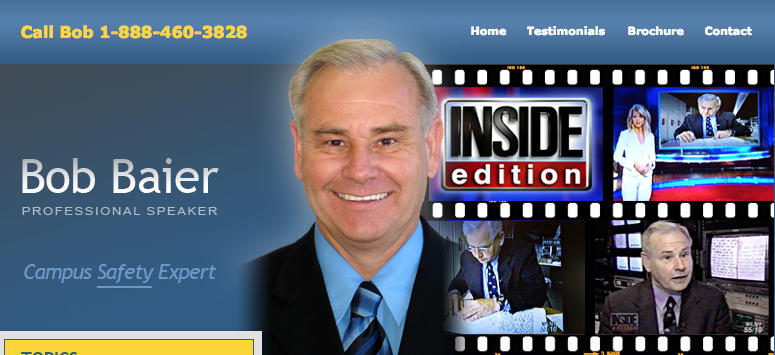 Bob Baier on Inside Edition as a Forensic Document Examiner expert