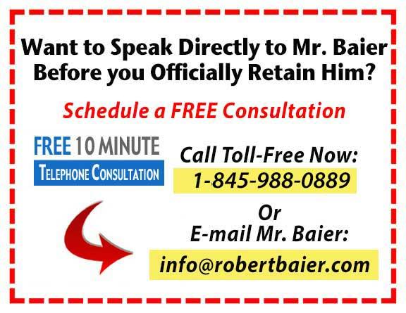 contact Bob Baier now